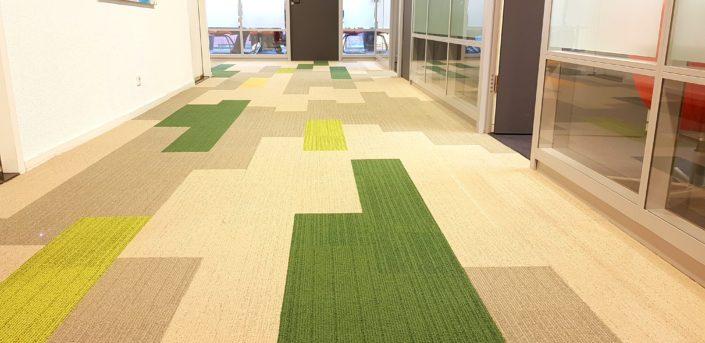 tapijttegels ''planks''